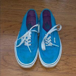 Sky blue vans